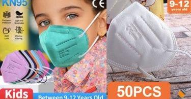 oferta Mascarillas infantiles FFP2 KN95 baratas SuperChollos