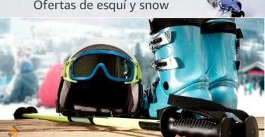 ofertas equipamiento esqui barato SuperChollos