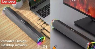 oferta barra de sonido Lenovo L101 barata SuperChollos
