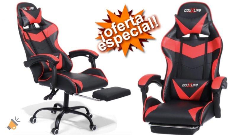 oferta silla gaming Douxlife%C2%AE Racing GC RC02 barata SuperChollos