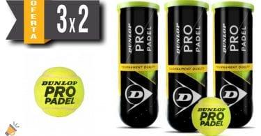 oferta Pelotas pa%CC%81del Pro Dunlop baratas SuperChollos