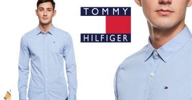 oferta Camisa Tommy Hilfiger Original Stretch barata SuperChollos