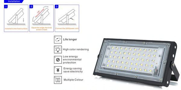 Foco LED exterior DSC barato SuperChollos