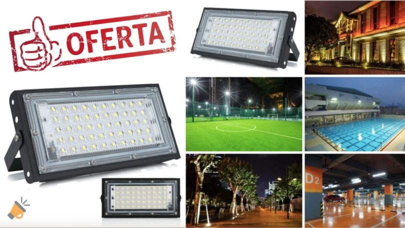 oferta Foco LED exterior DSC barato SuperChollos