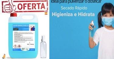 oferta Locio%CC%81n Hidroalcoho%CC%81lica barata SuperChollos