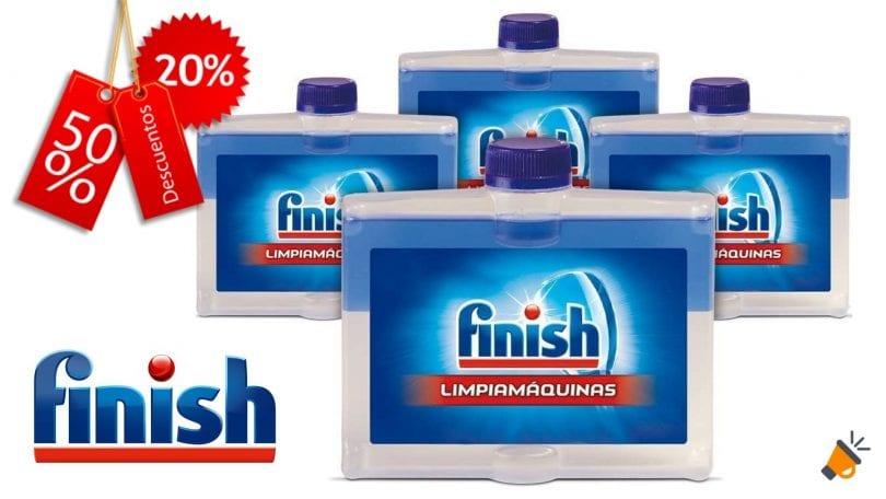 oferta finish limpiamaquina barato SuperChollos