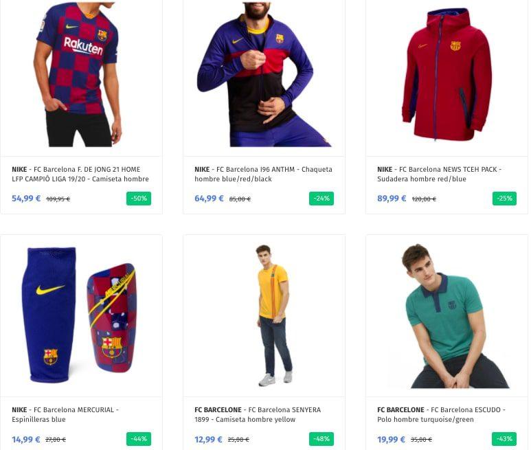 Productos oficiales FC Barcelona baratos2 SuperChollos