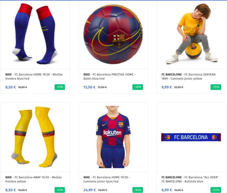 Productos oficiales FC Barcelona baratos3 SuperChollos