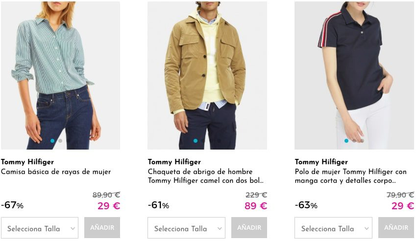 Ofertas destacadas Outlet Tommy Hilfiger2 SuperChollos