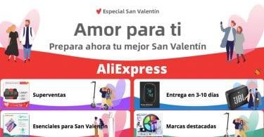 aliexpress ofertas san valentin SuperChollos