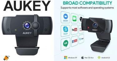 oferta Webcam Aukey PC LM4 barata SuperChollos