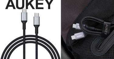 oferta cable usb c aukey barato SuperChollos
