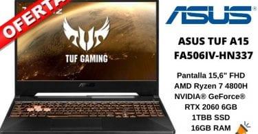 oferta Asus TUF A15 FA506IV HN337 barato SuperChollos