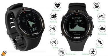 oferta Reloj GPS Sunroad barato SuperChollos