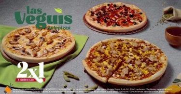 oferta telepizza pizzas veganas baratas SuperChollos