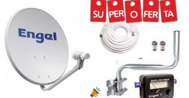 oferta Kit parabo%CC%81lica Engel barato SuperChollos