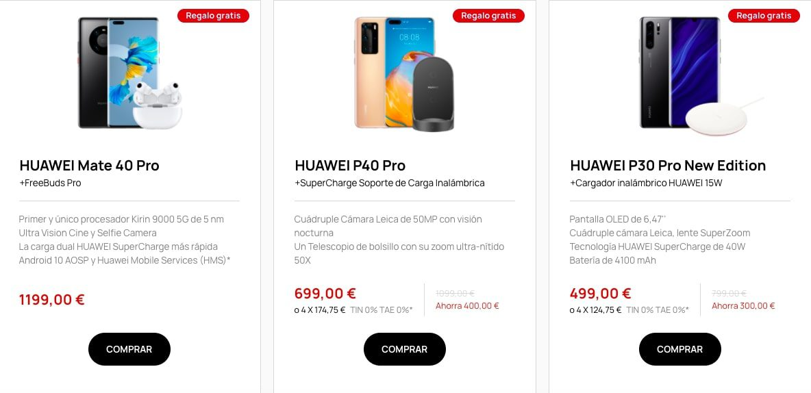 Ofertas destacadas Huawei1 SuperChollos