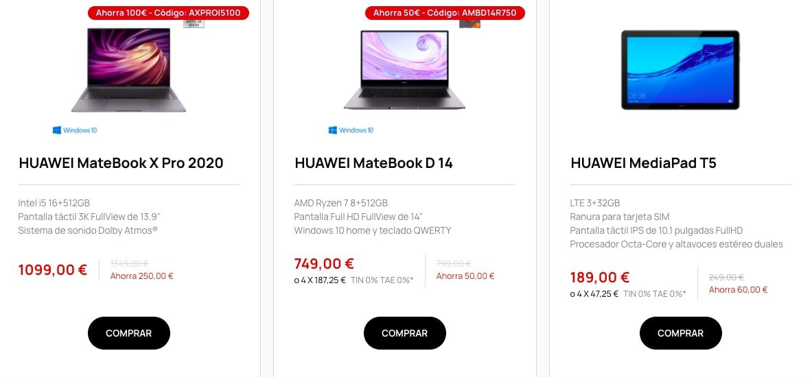 Ofertas destacadas Huawei2 SuperChollos