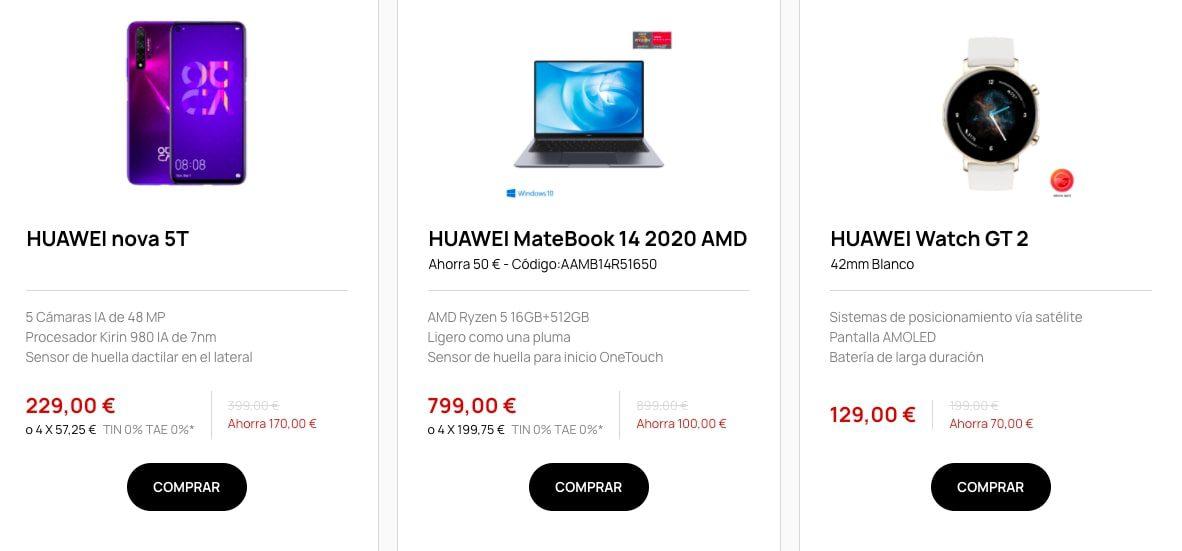 Ofertas destacadas Huawei3 SuperChollos