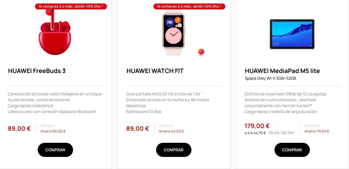 Ofertas destacadas Huawei4 SuperChollos