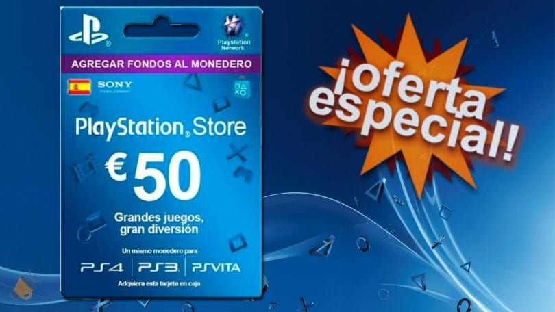 tarjeta regalo psn 50 euros barata SuperChollos