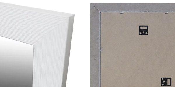 espejo pared rectangular mia inspire blanco 30x120 chollo barato leroy merlin SuperChollos