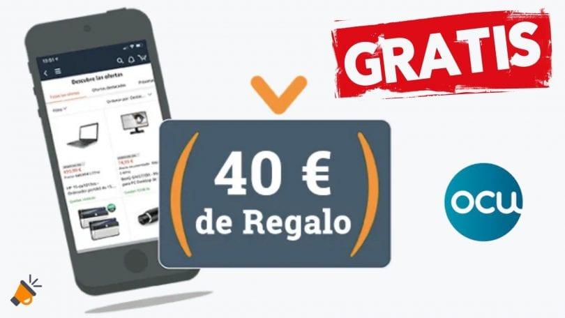 ocu cheque regalo amazon 40 euros SuperChollos