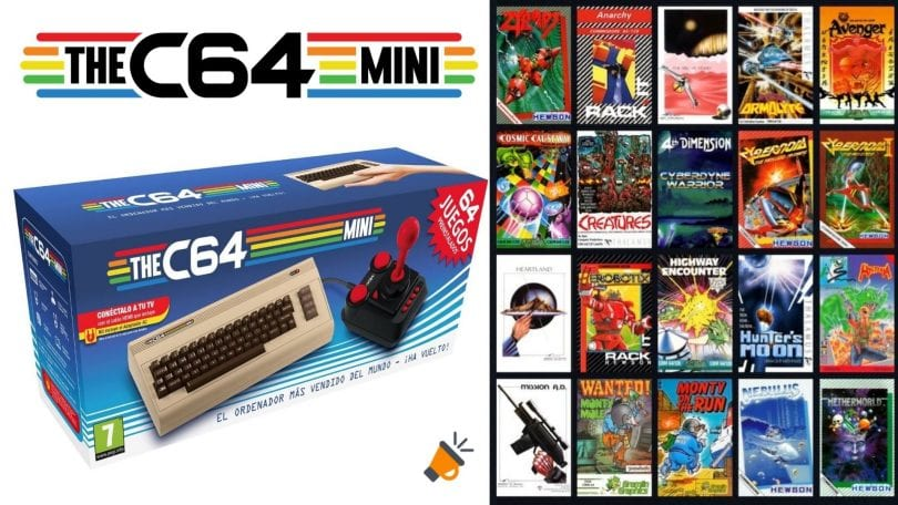 oferta commodore c64 mini barata SuperChollos