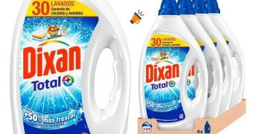 oferta Dixan Detergente Li%CC%81quido barato SuperChollos