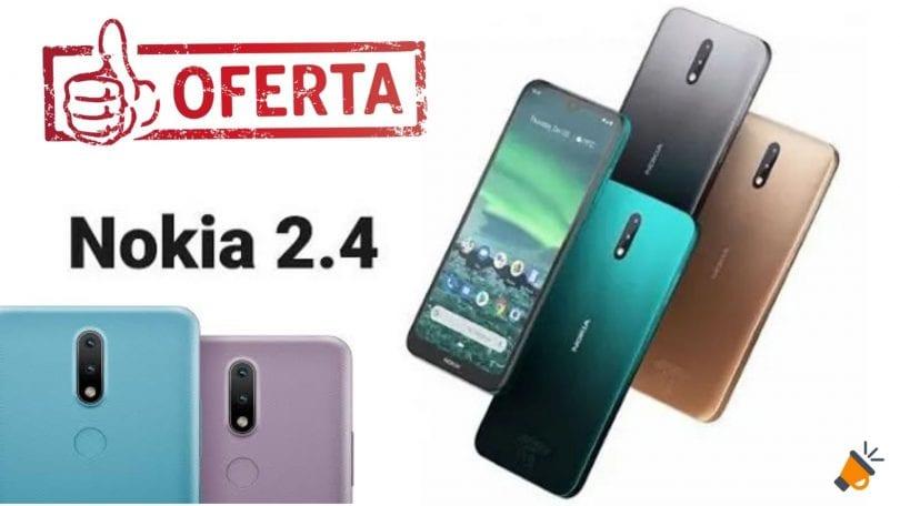 oferta Nokia 2.4 barato SuperChollos