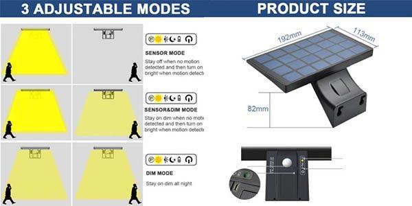 La%CC%81mpara solar impermeable Shopled barata SuperChollos