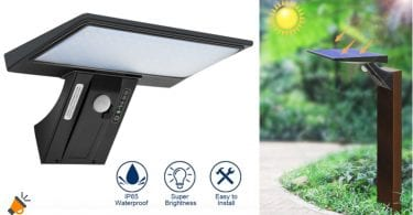 oferta la%CC%81mpara solar impermeable Shopled barata SuperChollos