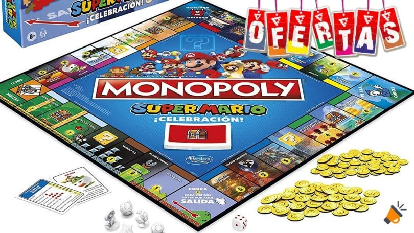 oferta Monopoly Super Mario %C2%A1Celebracio%CC%81n barato SuperChollos
