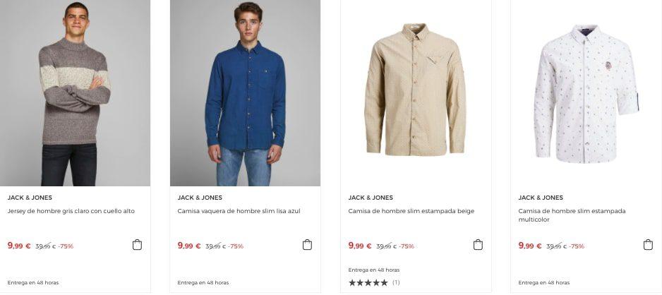 Ofertas Jack Jones en El Corte Ingle%CC%81s2 SuperChollos