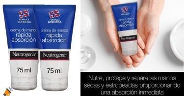 OFERTA crema neutrogena rapida absorcion barata SuperChollos