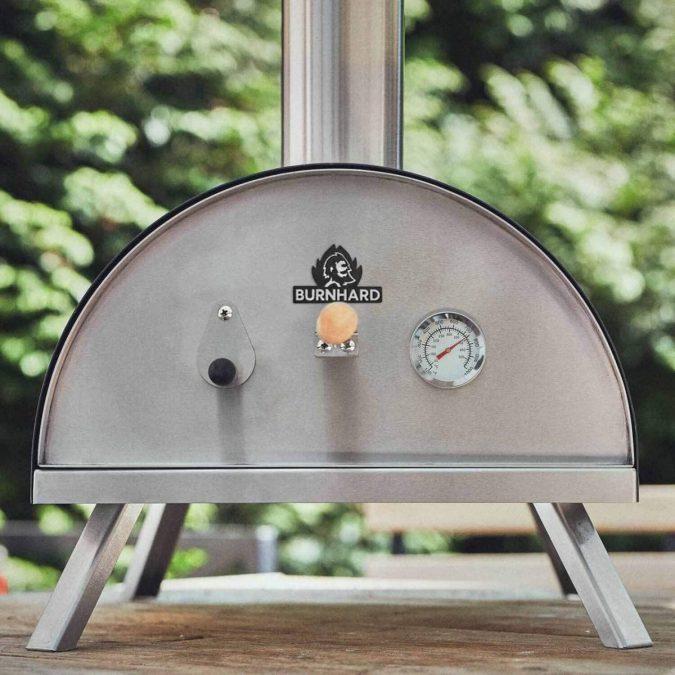 Horno pizzas BURNHARD Nero barato scaled SuperChollos
