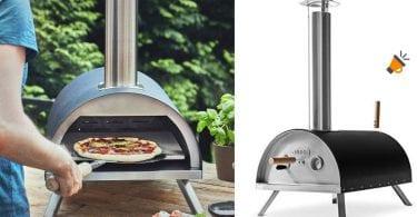 oferta Horno pizzas BURNHARD Nero barato SuperChollos