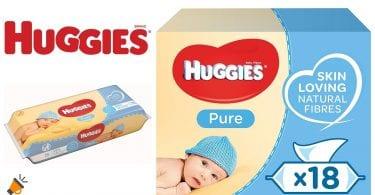 oferta huggies pure toallitas humedas baratas SuperChollos
