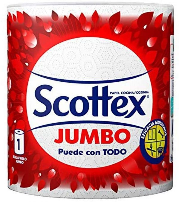 Rollos papel Scottex Jumbo baratos SuperChollos