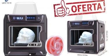 oferta impresora 3d QIDI TECH X MAX barata SuperChollos