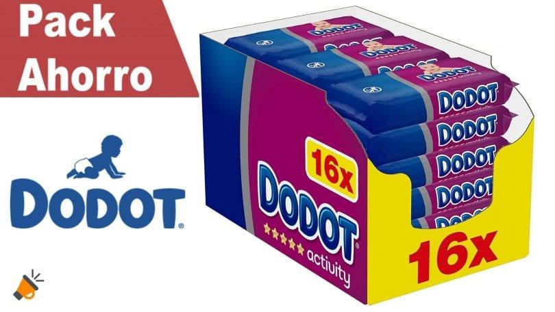 oferta Toallitas Dodot Activity baratas SuperChollos