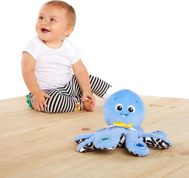 Pulpo Baby Einstein Octoplush barato scaled SuperChollos