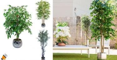 OFERTA plantas artificiales MAIA baratas SuperChollos