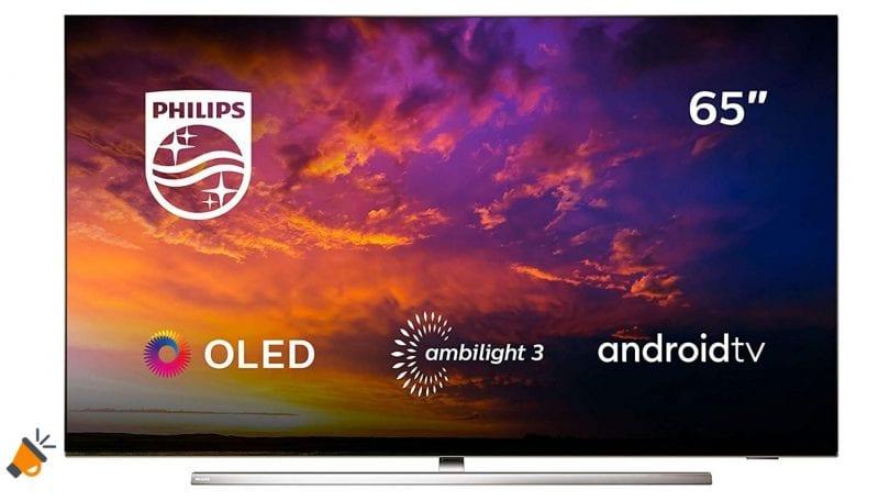oferta Philips 65OLED854 barata SuperChollos