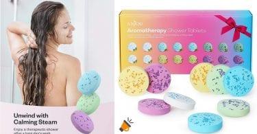 ofertas pastillas efervescentes ducha anjou baratas SuperChollos