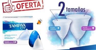oferta Copa menstrual Tampax Cup barata SuperChollos