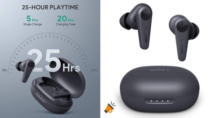 oferta auriculares AUKEY EP N7 baratos SuperChollos