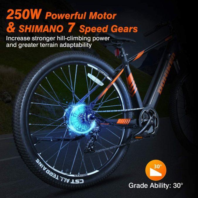 Bicicleta ele%CC%81ctrica Fafrees barata SuperChollos