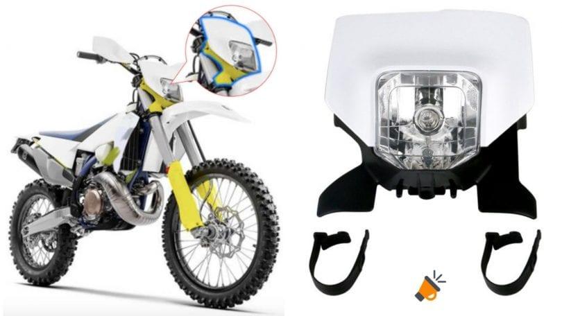 Faro LED motocicleta SuperChollos
