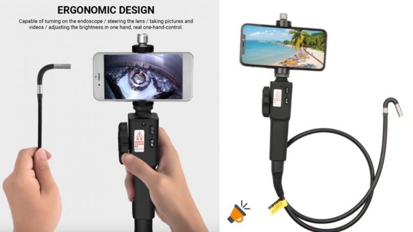 oferta Endoscopio orientable industrial barato SuperChollos